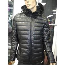 Куртка мужская эко-кожа, зима.