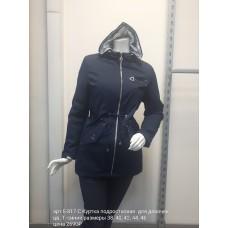 Куртка подростковая удлин. для девочек